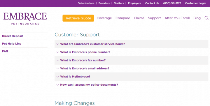 FAQs with Embrace Pet Insurance